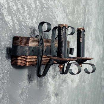 Бра дерев'яне Light House SRS-14098/2W коричневе