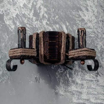Бра дерев'яне Light House SRS-14093/2W коричневе