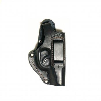 Кобура кожаная поясная для пистолета Макарова со скобой