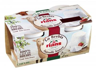 Десерт Rians сырный Фессель из овечьего молока 2х100 г