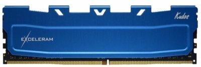 Модуль памяти eXceleram DDR4 32GB (2x16GB) 2400 MHz Blue Kudos (EKBLUE4322417AD) (F00181603)