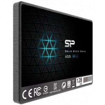 """Накопичувач SSD 2.5"""" Silicon Power 128GB (SP128GBSS3A55S25)"""