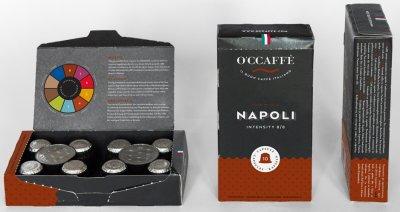 Кофе в капсулах O'CCaffe Napoli 5 г х 10 шт (8013663001231)