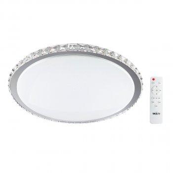 Світильник світлодіодний V-WATT Крісті 50W R пульт ДУ 1 (Настінно-стельовий, Люстра LED)