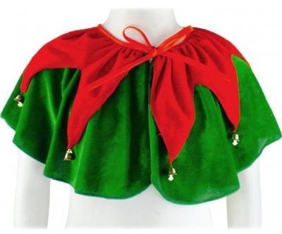 Накидка Эльф Seta Decor 19-1028GR-RD Зеленая с красным (2000048641010)