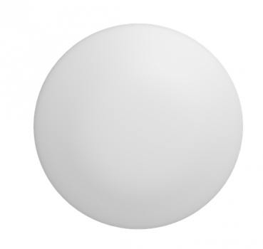 Світильник світлодіодний Гаусса IP20 D350*115 21W 1250lm 4000K DECOR білий 1/10