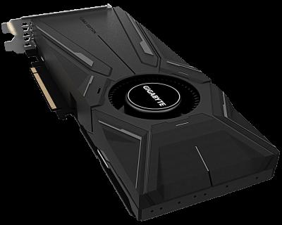 Gigabyte PCI-Ex GeForce RTX 2080 Super Turbo 8G 8GB GDDR6 (256bit) (1815/15500) (Type-C, HDMI, 3 x Display Port) (GV-N208STURBO-8GC)