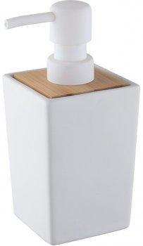 Дозатор для рідкого мила BISK Pure 06575 400 мл білий