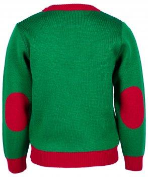 Джемпер Flash Рождество 19BG133-6-3900 Зеленый