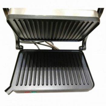 Домашній гриль (електрогриль) притискної WIMPEX BBQ WX-1055 Pro Kitchen+ 1000 Вт
