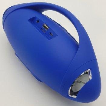 Портативна Bluetooth колонка з вологозахистом Hopestar Синя