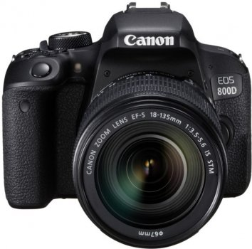 Фотоапарат Canon EOS 800D kit (18-135mm) IS STM