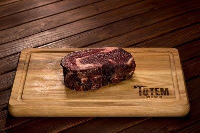 Стейк ТОТЕМ СТЕЙК Рібай (Steak Ribeye) сухої витримки 50+ днів L (250-300г)