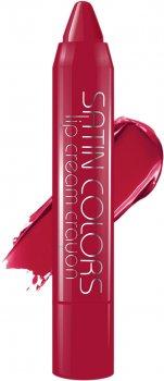 Помада-олівець Belor Design Smart Girl Satin Colors тон 007 Червоний 2.3 г (4810156046212)