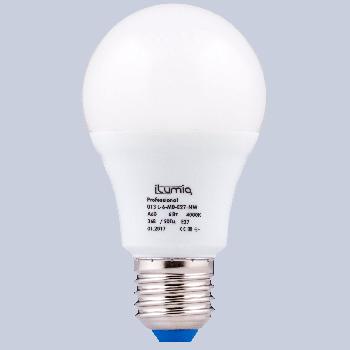 Світлодіодна лампа Ilumia низьковольтна 6Вт, 36В Цоколь Е27, 4000К (нейтральний білий), 600Лм (013)