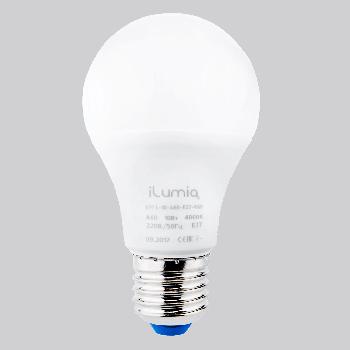 Світлодіодна лампа Ilumia 10Вт, цоколь Е27, 4000К (нейтральне світло), 800Лм (071)