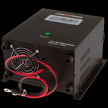ДБЖ з правильною синусоїда LogicPower LPY-W-PSW-500VA+(350W)5A/10A 12V для котлів і аварійного освітлення