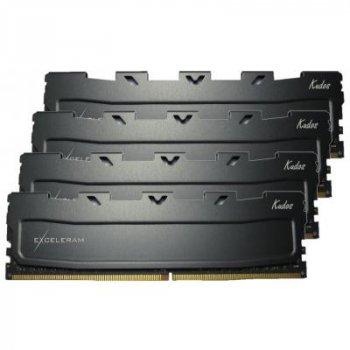 Модуль пам'яті для комп'ютера DDR4 32GB (4x8GB) 2400 MHz Black Kudos eXceleram (EKBLACK4322415AQ)