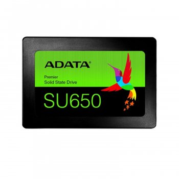 "Винчестер ADATA ASU650SS-120GT-R 120 Gb SSD SATA III 2.5"" Ultimate SU650 520 320 Mbs 3D NAND TLC (175913)"
