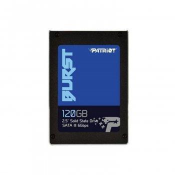 "Винчестер Patriot PBU120GS25SSDR 120 Gb 2.5"" SSD SATA III BURST 560 540 MBs TLC&3D (165825)"
