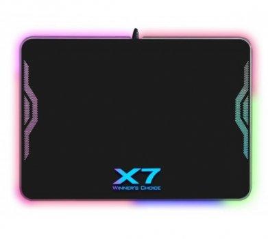 Поверхня ігрова A4Tech XP-50NH RGB Control підсвічування, USB підключення, 6 світлових ефектів, 358х256х7мм