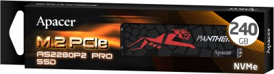 Apacer AS2280P2 PRO 240GB NVMe M.2 PCIe 3.0 x2 3D NAND TLC (AP240GAS2280P2PRO-1)