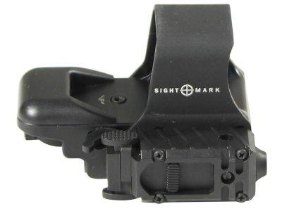 Коллиматорный прицел Sightmark быстросьемный с ЛЦУ SM14003 (выносная кнопка) и режимом для Приборов Ночного Видения (ПНВ)
