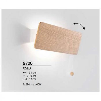 Світильник настінний Nowodvorski OSLO 9700