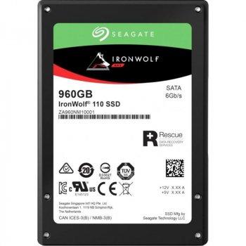 "Накопичувач SSD 960GB Seagate IronWolf 110 2.5"" SATAIII 3D TLC (ZA960NM10011)"