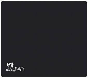 Коврик Gembird MP-GAME01 для игровой мышки, ткань, черный