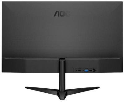"""Монітор AOC 27"""" 27B1H IPS Black; 1920х1080, 250 кд/м2, 7 мс, HDMI, D-Sub"""