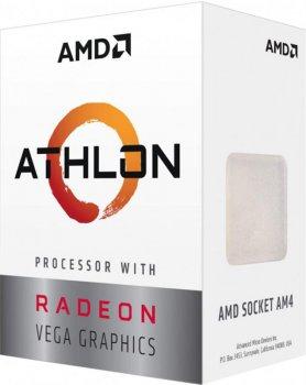 Процессор AMD Athlon 3000G 3.5GHz (4MB 35W AM4) Box (YD3000C6FHBOX)