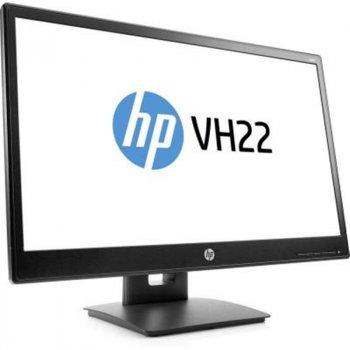 """Монітор HP 21.5"""" VH22 (X0N05AA) Black; 1920x1080, 5 мс, 250 кд/м2, DVI, DisplayPort, VGA"""
