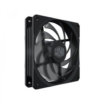 Вентилятор CoolerMaster MasterFan SF120R (MFX-B2NN-20NPK-R1), 120х120х25 мм, 4pin, чорний