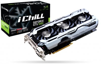 Відеокарта GF GTX 1060 6GB GDDR5 iChill X3 V2 Inno3D (C106F2-3SDN-N5GSX)