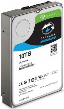 Накопичувач HDD SATA 10.0 TB Seagate SkyHawk 7200rpm 256MB (ST10000VX0004)