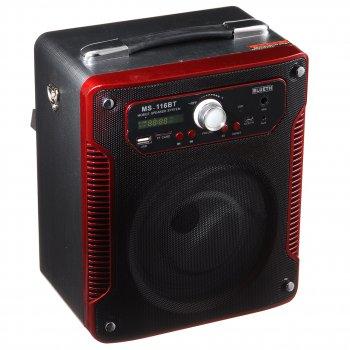 Акустическая система Speaker (MS-116 Bт) Красный