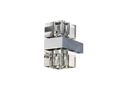 Бра AZzardo BOX 2 MB8515-2-CH-CL