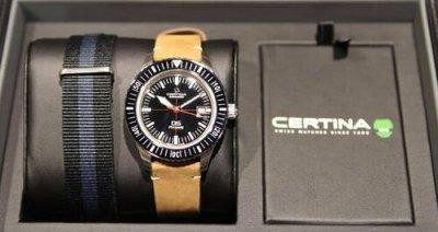 Чоловічий наручний годинник Certina C036.407.16.050.00 ремінь в комплекті
