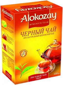 Упаковка черного листового чая Alokozay Tea FBOP 100 г х 2 шт (4820229040801)
