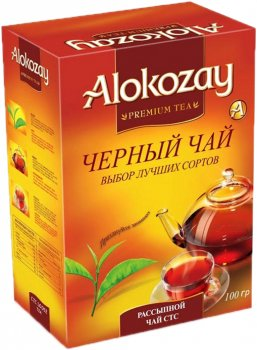 Упаковка черного гранулированного чая Alokozay Tea СТС 100 г х 2 шт (4820229040818)