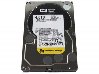 "Жорсткий диск 4Tb Western Digital WD RE4 (3.5"", 7200 RPM, 32 Mb, SAS 2.0, WD4001FYYG) Б/У"