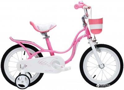 "Велосипед RoyalBaby Little Swan 14"" Official UA Розовый (RB14-18-PNK)"