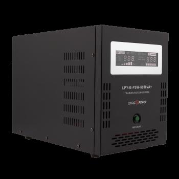 ИБП с правильной синусоидой LogicPower LPY-B-PSW-6000VA+(4200W)10A/20A 48V для котлов и аварийного освещения