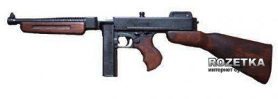 Макет автомата Thompson M1A1 1928р., коробчатий магазин (1093)