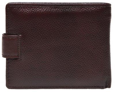 Мужской кожаный кошелек Laras K10023 Коричневый (ROZ6206118223)