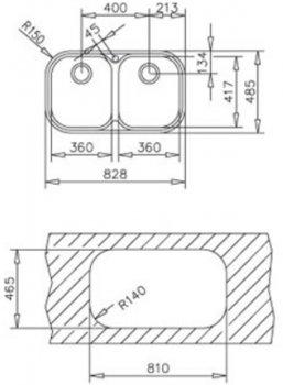 Кухонна мийка TEKA STYLO 2B полірована 11107025