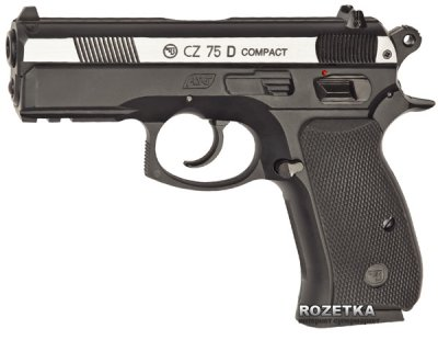 Пневматичний пістолет ASG CZ 75D Compact DT (23702521)