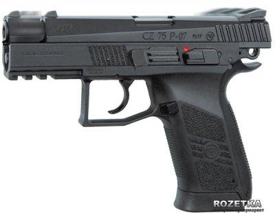 Пневматичний пістолет ASG CZ 75 P-07 Blowback (23702520)