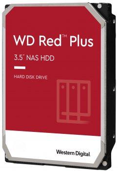 Жорсткий диск Western Digital Red Plus 3TB 5400rpm 64MB WD30EFRX 3.5 SATA III